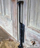 Arts and Crafts Front Door Cane Bolt  #8
