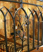 Hand Forged, Wrought Iron Craftsman Style Railing