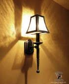 American Craftsman Style Light Sconce