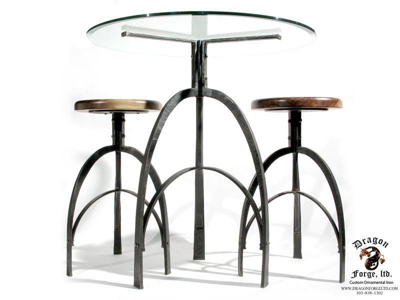 Deco-study-Table-and-stools-Dragon-Forge