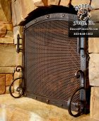 Great Northern Lodge Free Standing Fireplace Screen