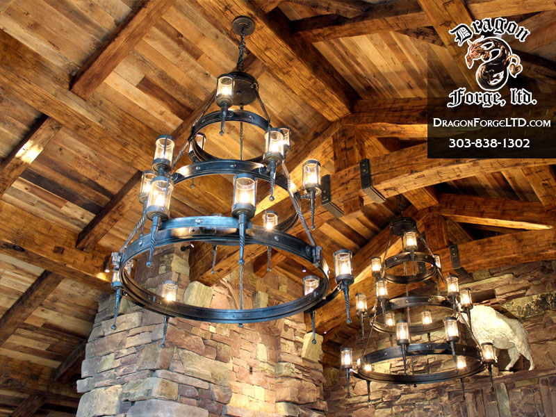 modern-rustic-chandelier-Dragon-Forge-Montana-Blacksmith