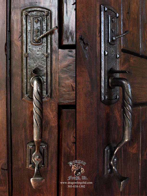 Arts and Crafts Style Custom Door Pull