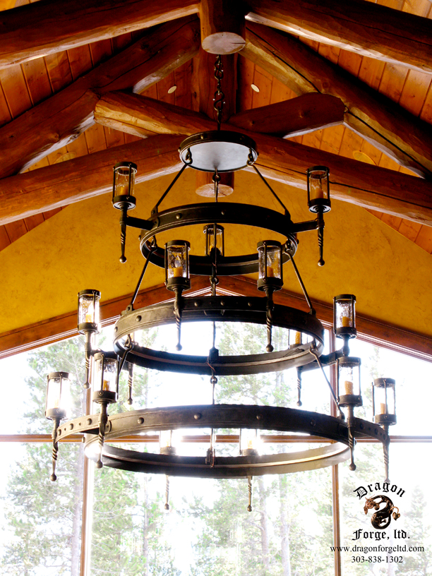American Craftsman Style Chandelier