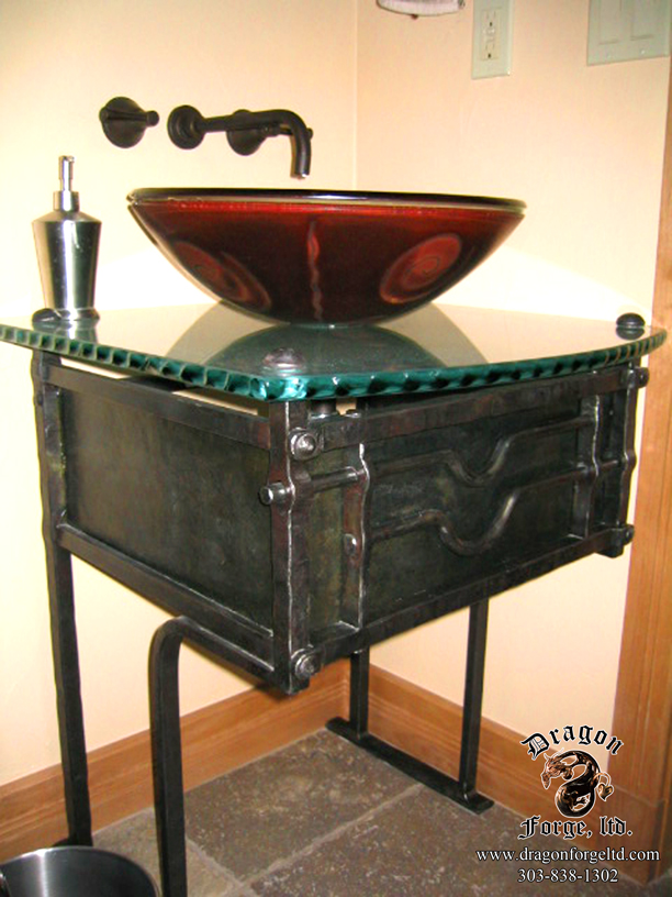Metal Sink Base