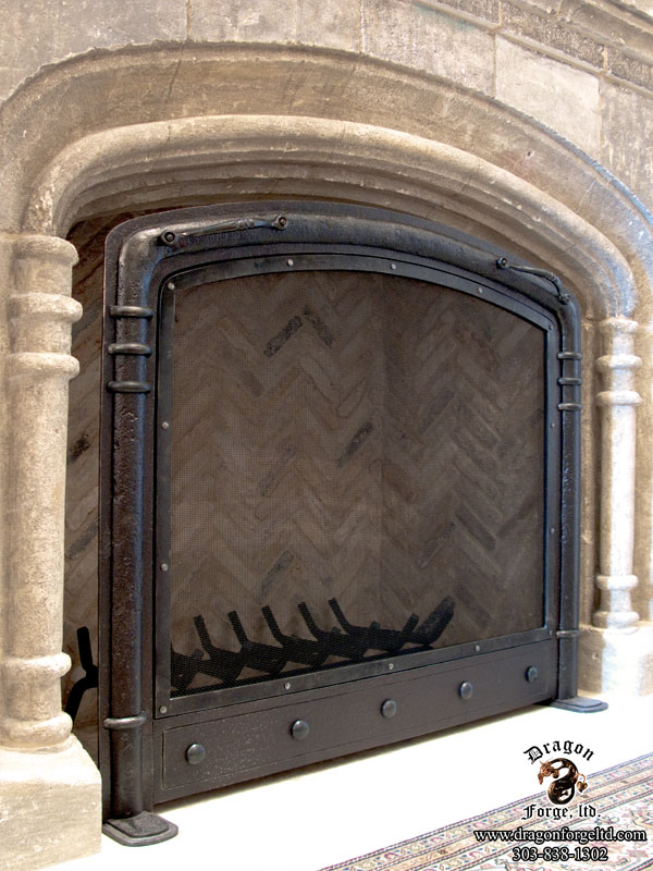 Custom Fireplace Accent