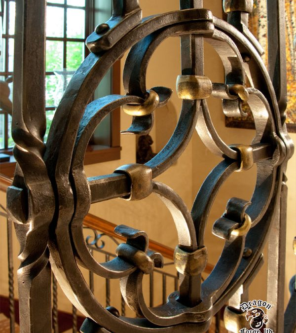 Custom Ornamental Detail for railing