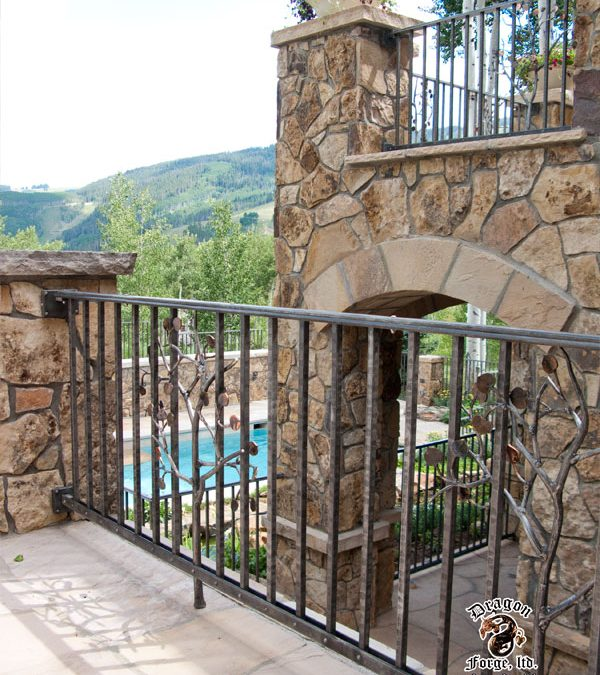Forged Aluminum Railing