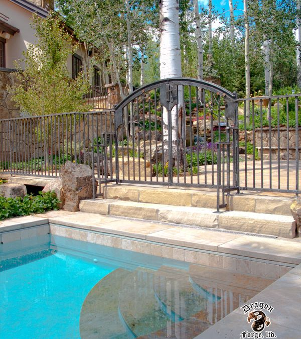 Forged Aluminum Gate