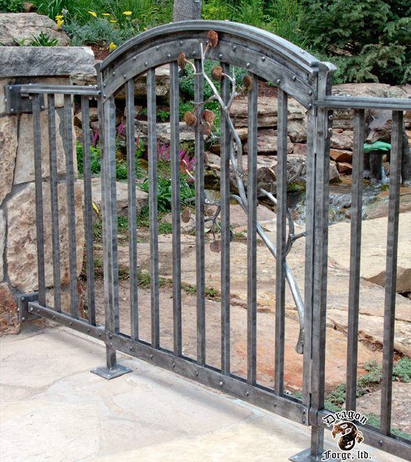 Hand Forged Aluminum Gates